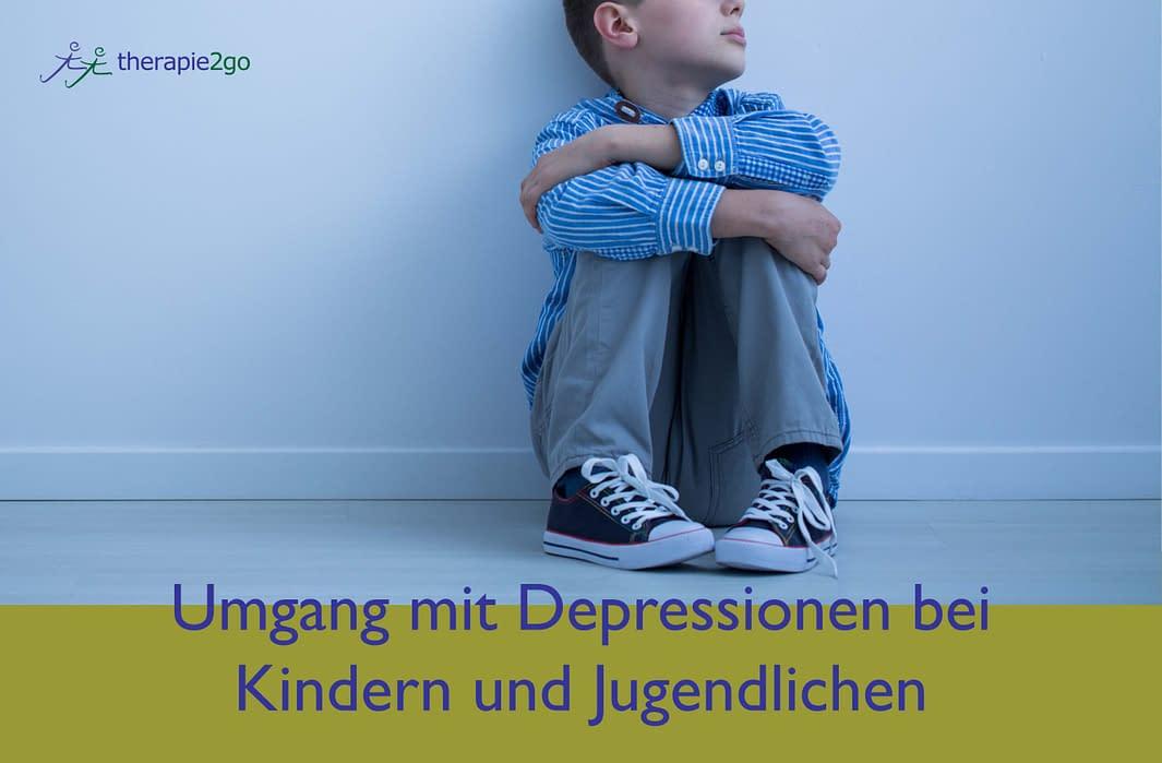 Kind depressiv - Umgang mit Depressionen bei Kindern und Jugendlichen