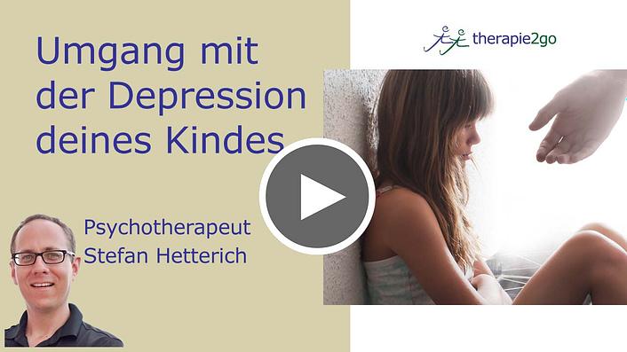 Umgang mit Depression bei Kindern